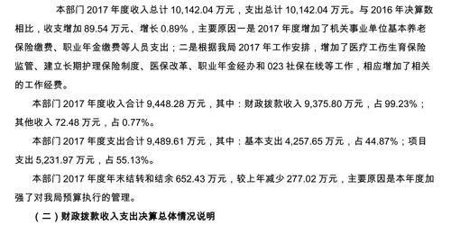 重庆市社会保险局2017年部门决算公开说明-3