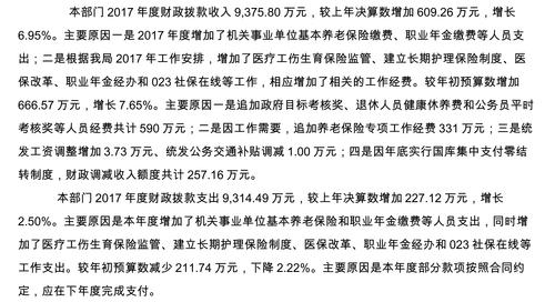 重庆市社会保险局2017年部门决算公开说明-4